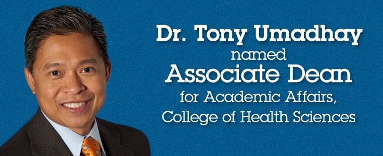 Anesthesiology Program Director named Associate Dean for Academic Affairs, College of Health Sciences