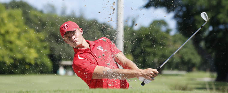Men's Golf Sits in 3rd Place at NCAA Championships