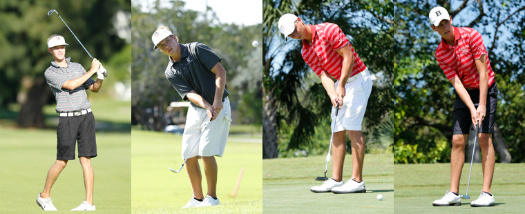 Four Bucs Named to Men's Golf All-Region Team