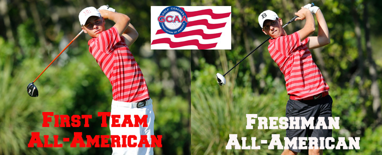 Svensson First-Team Men's Golf All-American