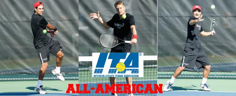 Men's Tennis No. 3 in Final ITA Rankings