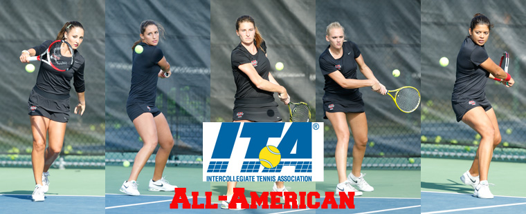 Women's Tennis No. 1 in Final ITA Poll