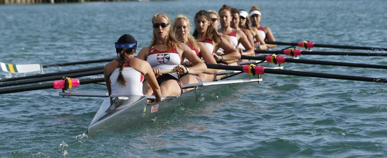 Rowing's 8+ 2nd in NCAA Championships Heat Race