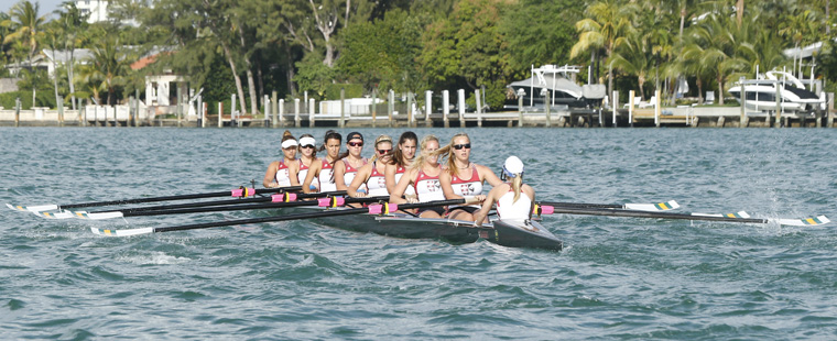 Rowing Finishes 4th at NCAA Championships
