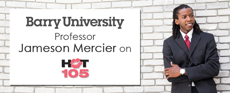 Jameson Mercier on Hot 105FM