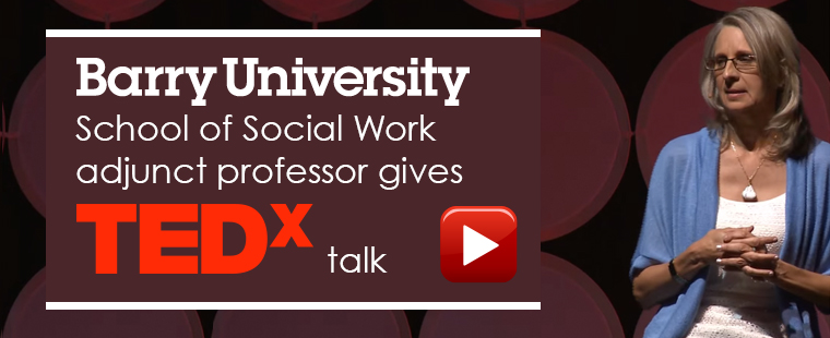 School of Social Work adjunct professor gives TEDx Talk