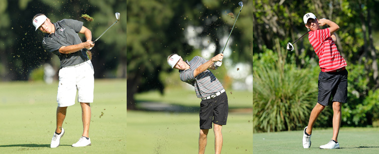 Men's Golf Trio Named All-Americans