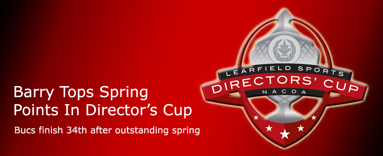 Barry Tops Spring Points In Director's Cup