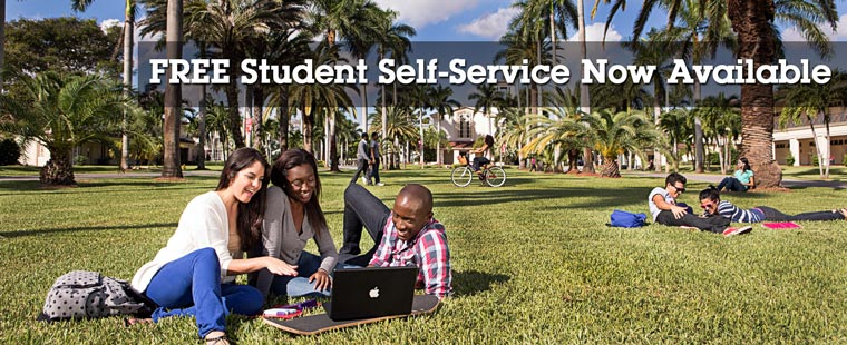 Free Student Self-Service Now Available
