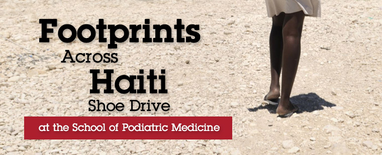 Support the Footprints Across Haiti Shoe Drive, July 19