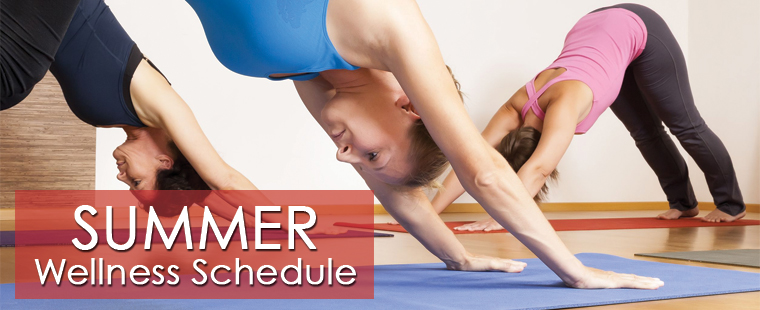 Summer Wellness Schedule