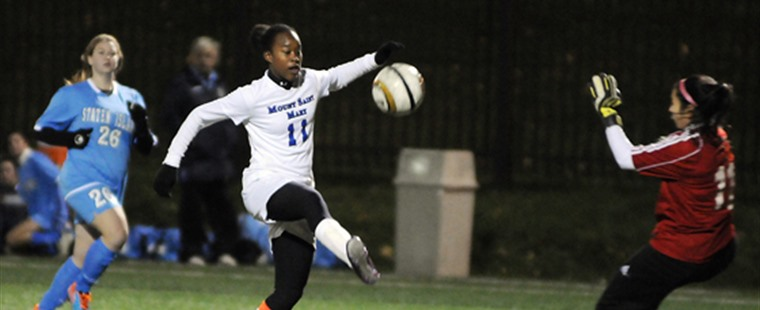 Women's Soccer Adds Transfer Striker To 2014 Class