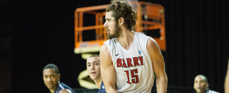Fivelstad Named to Men's Basketball Honors Court