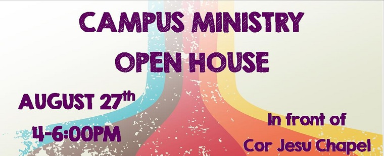 Campus Ministry Open House and Religion & Spirituality Fair