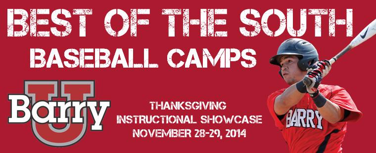 Baseball Announces Instructional Camp