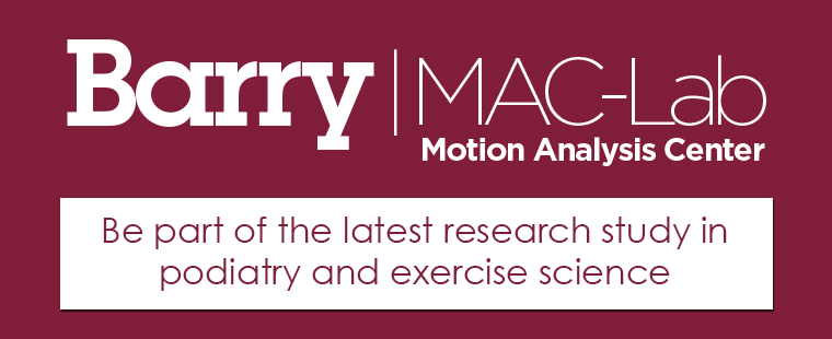Be part of the latest research study in podiatry and exercise science