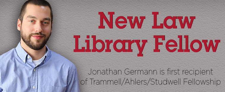 Law School Welcomes Library Fellow