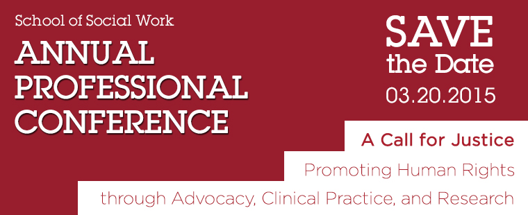 School of Social Work Annual Professional Conference