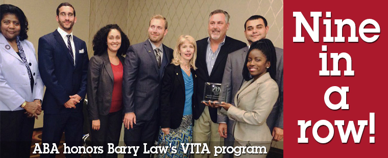 Another ABA honor for Law School's VITA program