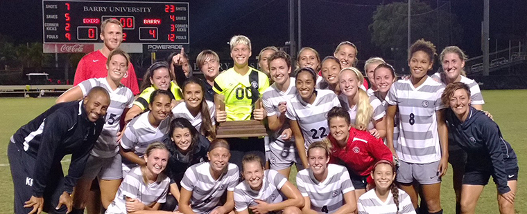 Women's Soccer Picked Second in SSC Pre-Season Poll