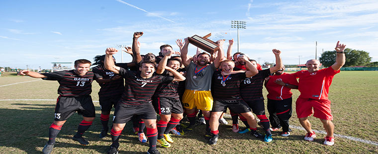 Barry Men's Soccer Picked Fourth in SSC Pre-season Poll