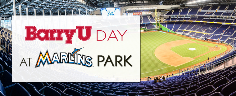 BarryU Day at Marlins Park