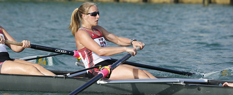 Rowing's Boncheva Competing at World Championships