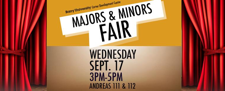Majors and Minors Fair Description: