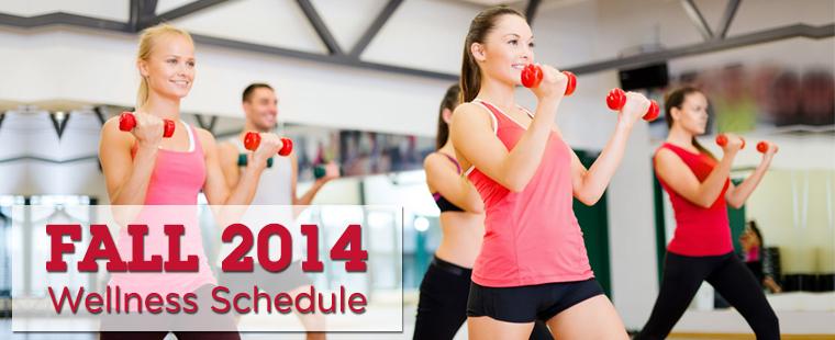 2014 Campus Recreation & Wellness Schedule