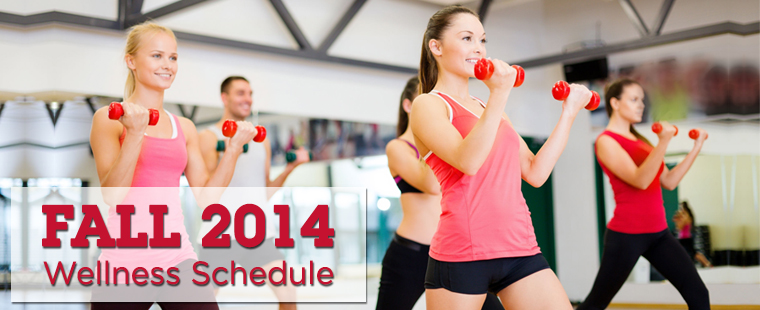 2014 Campus Recreation & Wellness Schedule