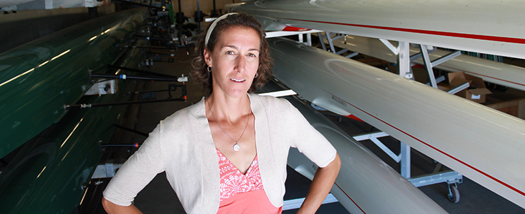 Former Olympian Shoop Named Rowing Assistant