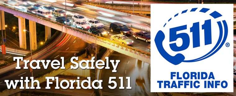 Get Traveler Information with Florida 511