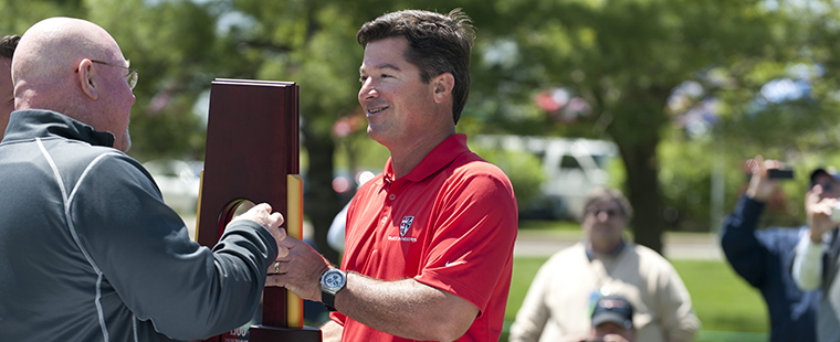 Men's Golf Opens Season Sept. 15 in Indy