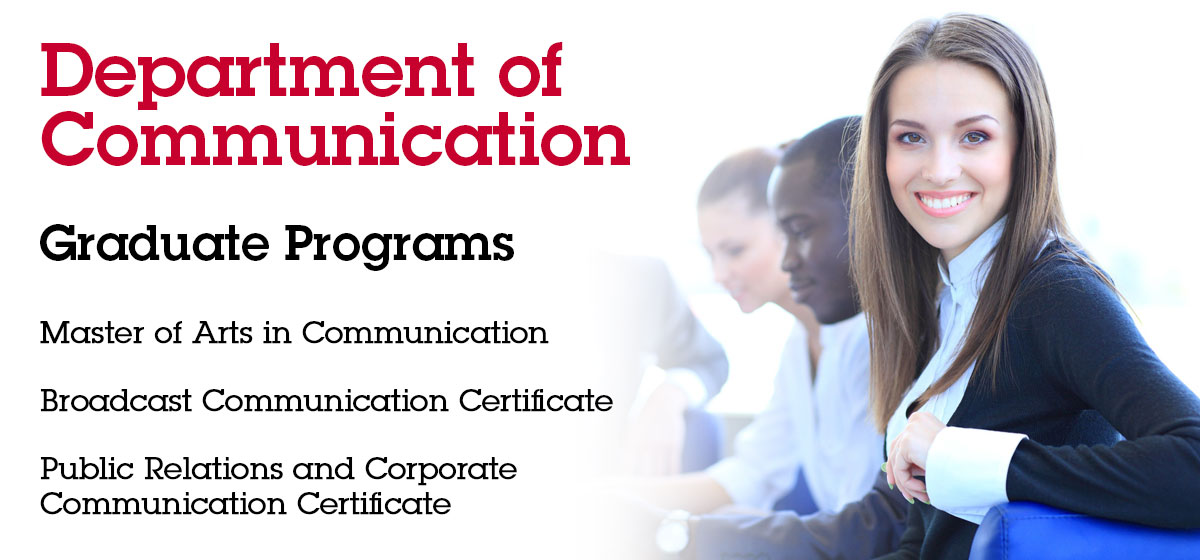 Department of Communication Graduate Programs