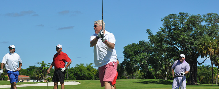 Buccaneer Golf Day Follows Ring Ceremony