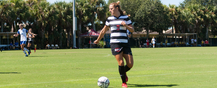 Women's Soccer Escapes Shark Pit