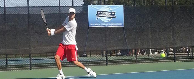 Groetsch Moves on to Men's Tennis Small College Semifinals