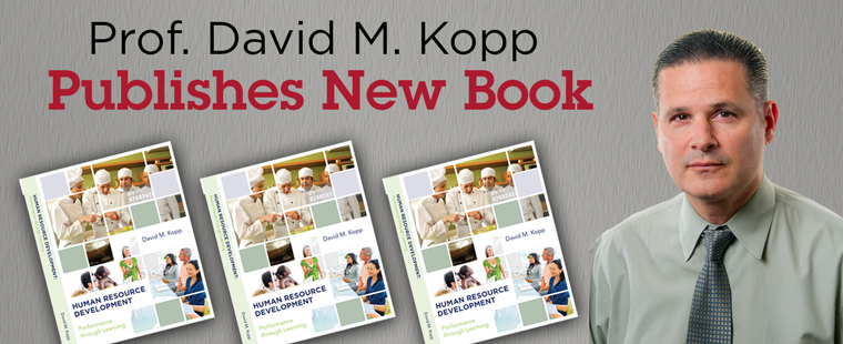 Prof. David M. Kopp publishes new book on human resource training and development
