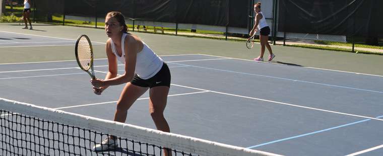 Women's Tennis Pair Knocks off Notre Dame Duo