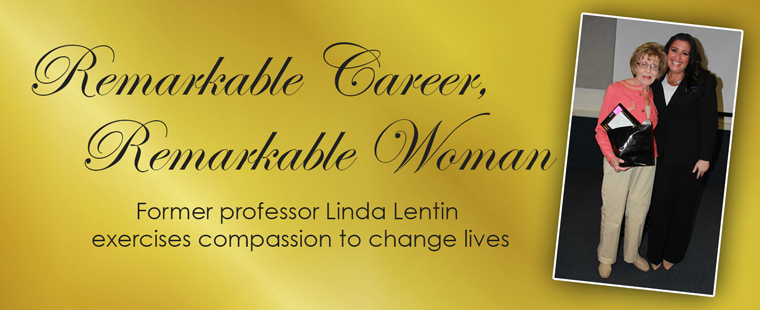 Former professor Linda Lentin uses compassion to change lives