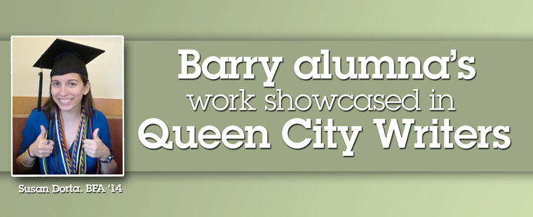 Barry alumna's work showcased in Queens City Writers journal