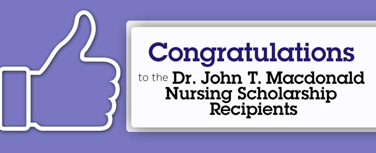 Congratulations nursing students