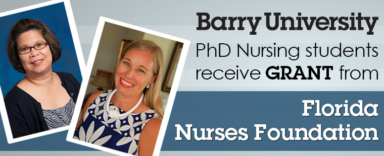 Barry nursing students awarded research grants