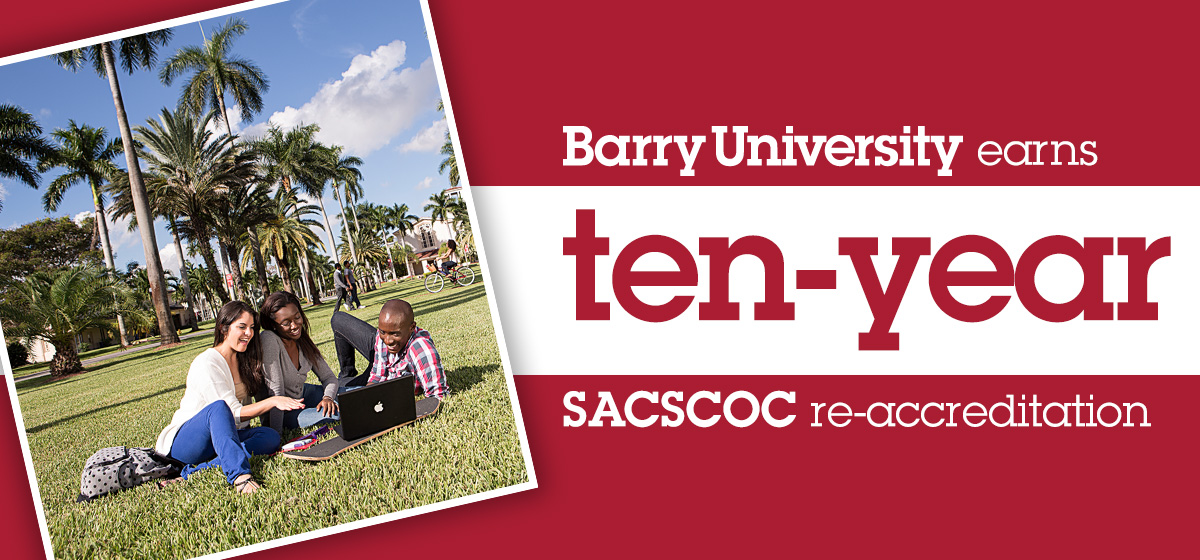 Barry University earns ten-year SACSCOC re-accreditation