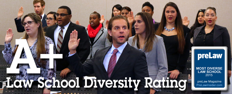 Law School Ranked #9 in U.S. for Diversity