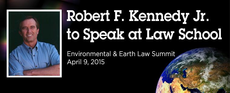 RFK Jr. is Keynote Speaker at Summit