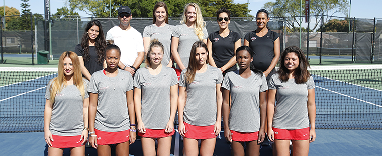 Women's Tennis Chosen to Repeat in SSC