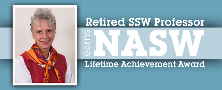 Retired SSW Prof. earns NASW Lifetime Achievement Award