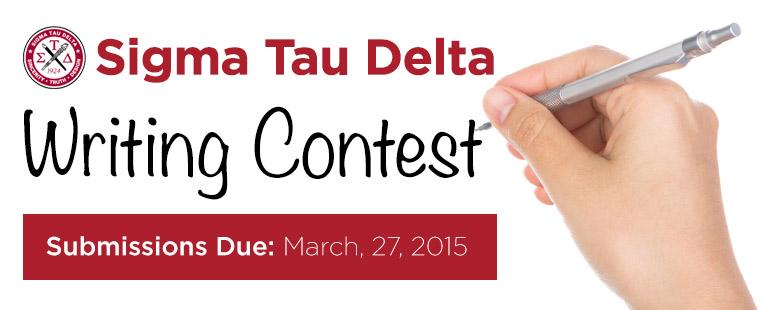 Sigma Tau Delta Writing Contest