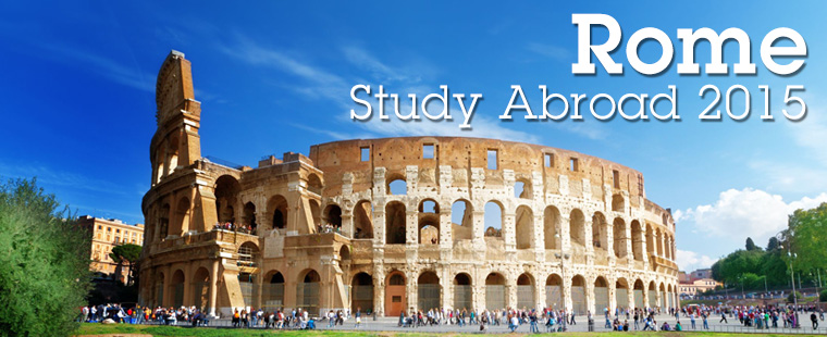 Interested in studying abroad in Rome this summer?